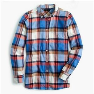 J.Crew Classic Fit Boy Shirt in Pacey Plaid